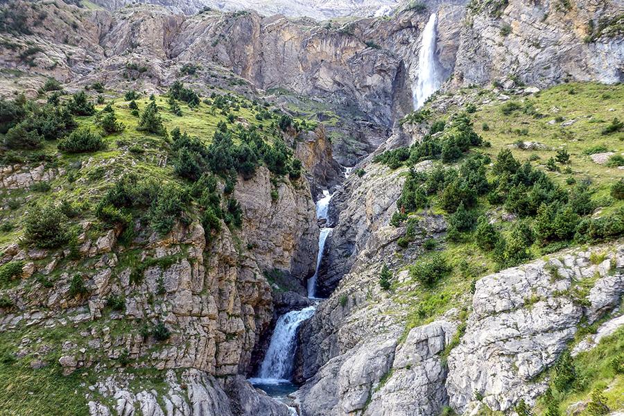 Cascada del Cinca. Pineta