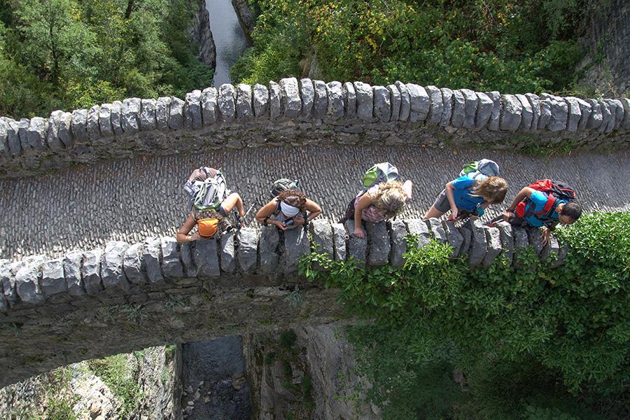 Puente de San Urbez. Añisclo
